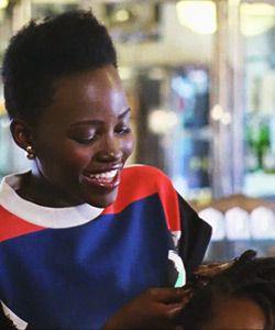 Lupita Nyong'o's Secret Talent: Braiding Hair