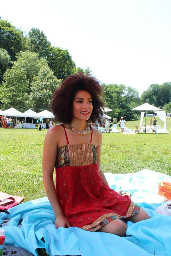 naturallycurly editor devri velazquez at curlfest 2016