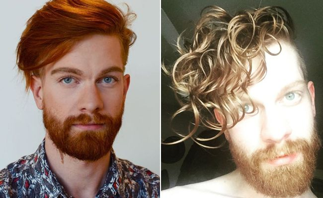 male curly hair inspiration