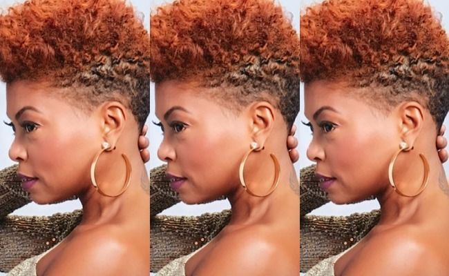 Taraji P Henson Showing Off Her Natural Hair Is What We
