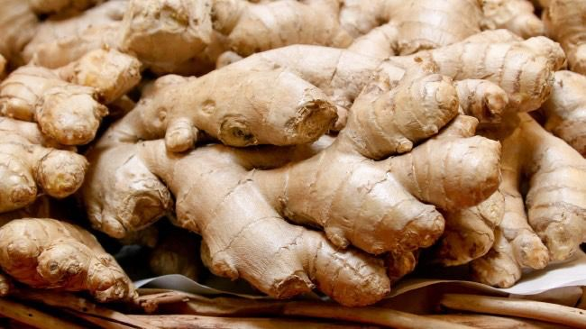 ginger root for hair