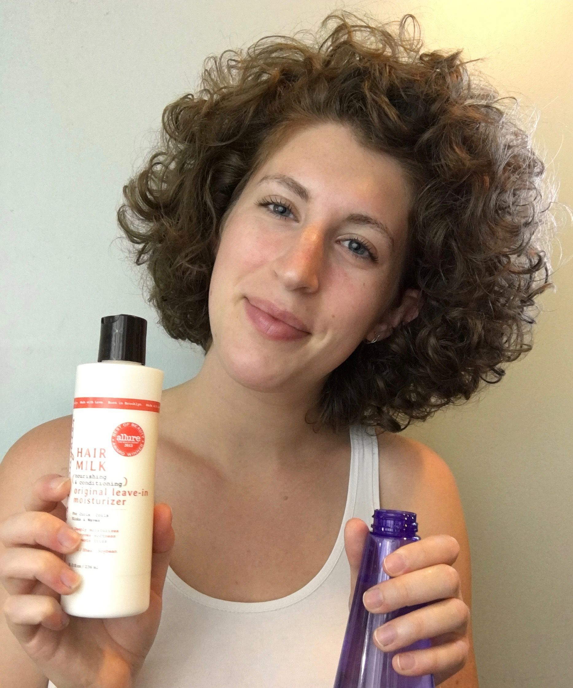 "How I Revive My ""Crazy"" Curly Hair in the Morning"