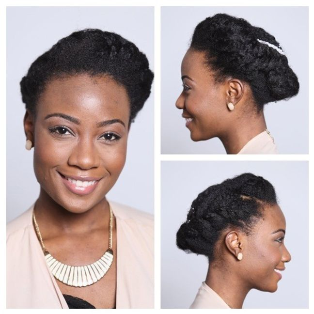 3 Easy Natural Hair Wedding Styles Naturallycurly Com