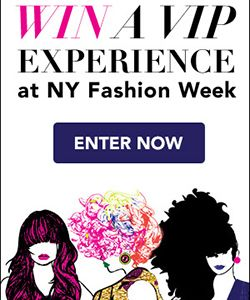 Win a VIP Experience at New York Fashion Week