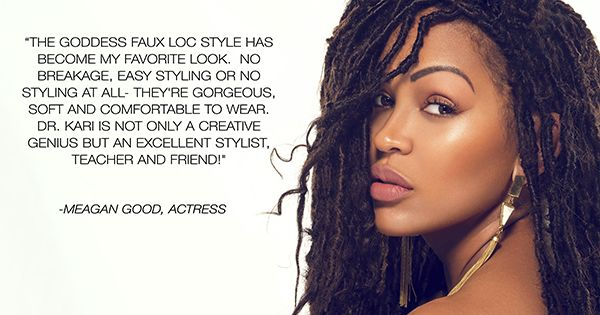 Watch How To Get Meagan Good S Goddess Faux Locs