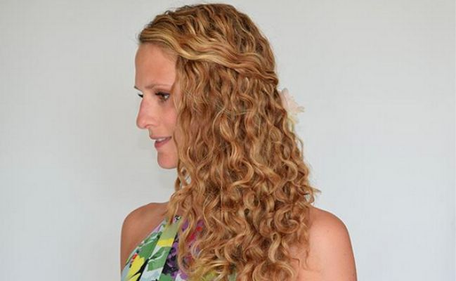 curly girl method results 3a curls