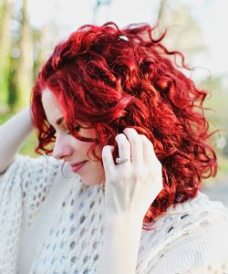 Maintaining Red Color for Curly and Coily Hair