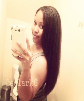 Flat Iron Natural Hair