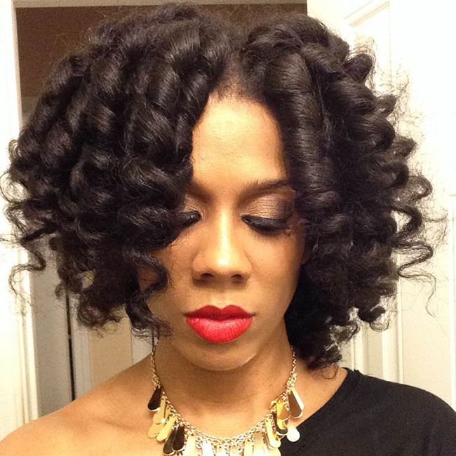 7 Tips For A Frizz Free Roller Set Naturallycurly