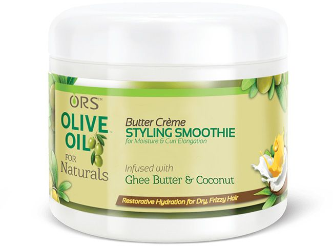 ORS Olive Oil for Naturals Butter Creme Styling Smoothie infused with ghee butter and coconut