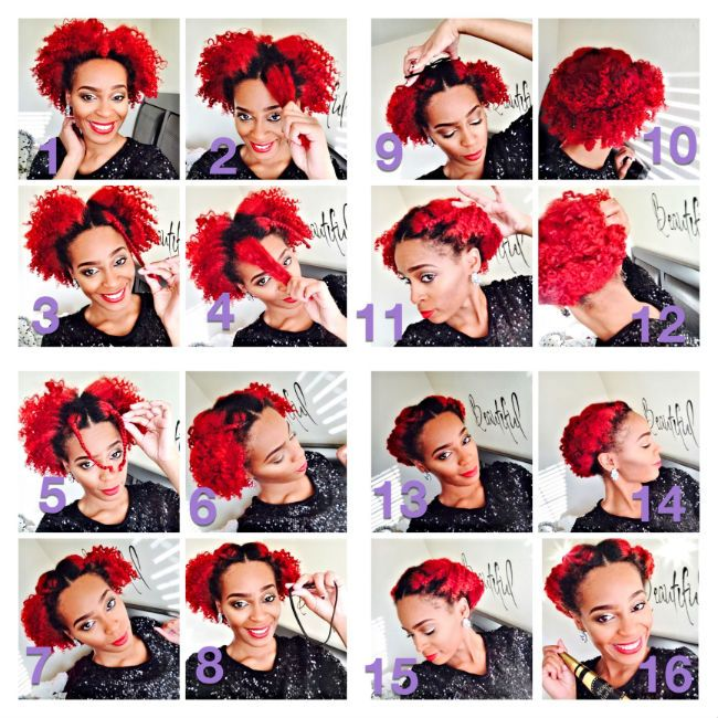 The Ultimate New Years Eve Updo For Natural Hair Naturallycurly
