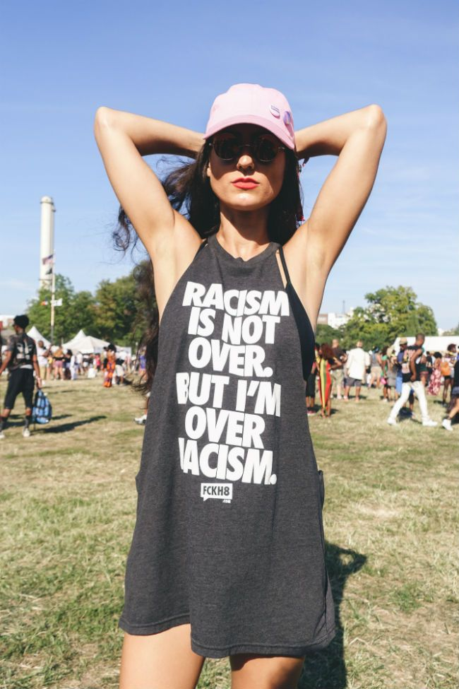 racism is not over at Afropunk Fest