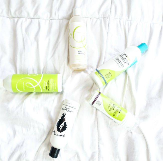 curly hair products devacurl bounce