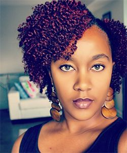 Enhance the Look of Your Curls With Semi-Permanent Color