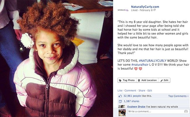 Girl Teased For Horse Hair Finds Confidence On Facebook