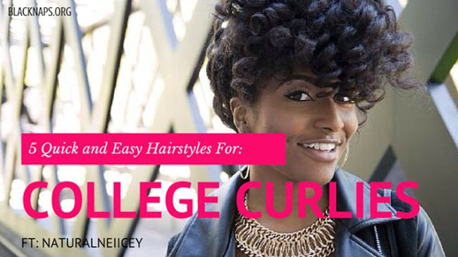natural neiicey college hairstyles