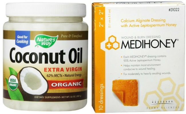 coconut and raw honey treatment