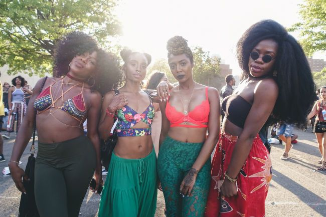 street style 3 at Afropunk Fest