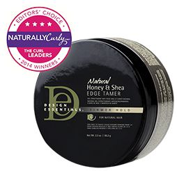 SHOP: Design Essentials Natural Honey & Shea Edge Tamer (2.3 oz.)