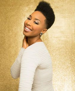 Grammy-Nominated Singer Carolyn Malachi's Natural Hair Journey
