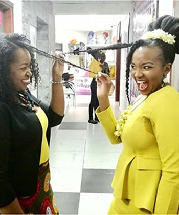 Meet Two of Kenya's Budding Natural Hair Bloggers