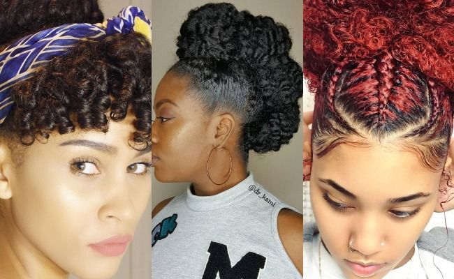 8 Gorgeous Springtime Updos For Naturally Curly Hair Naturallycurly Com