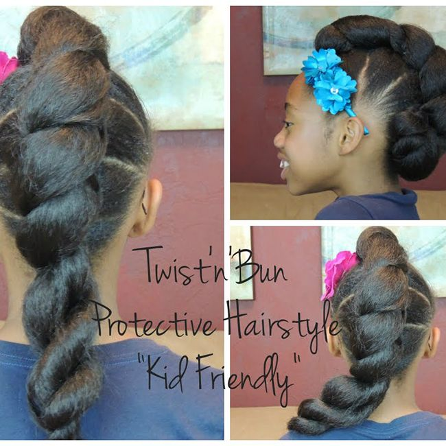 5 Kid Friendly Protective Hairstyles With Extensions Naturallycurly Com