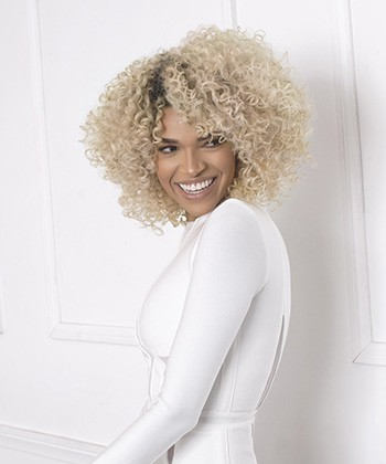 Hair Stylist, Leysa Carillo, on How to Color Curly Hair Without Damaging Your Hair