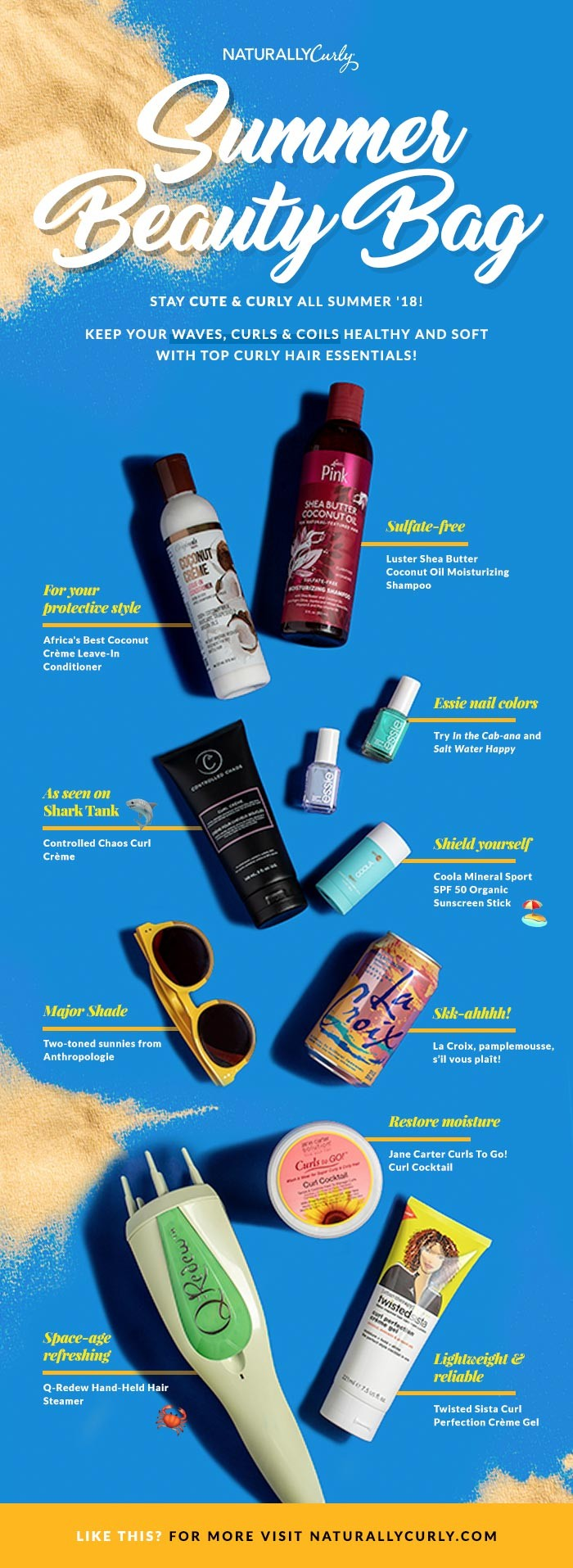 summerbeautybag infographic
