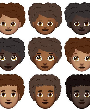 Two Women Team Up to Create an Afro Emoji
