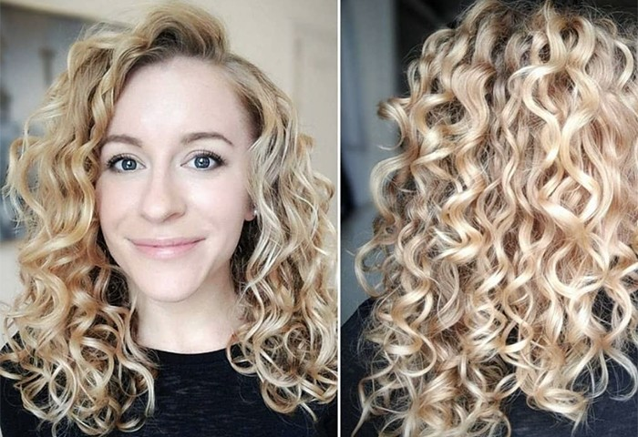 This is Why Your Wavy Hair Won't Clump