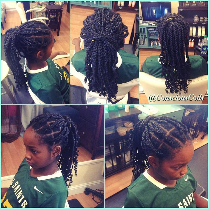 Braided Kids\u0027 Styles for Back to School
