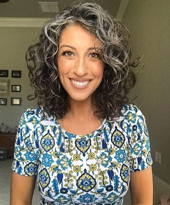 The Beauty of Natural Silver Curls and How to Care for Them