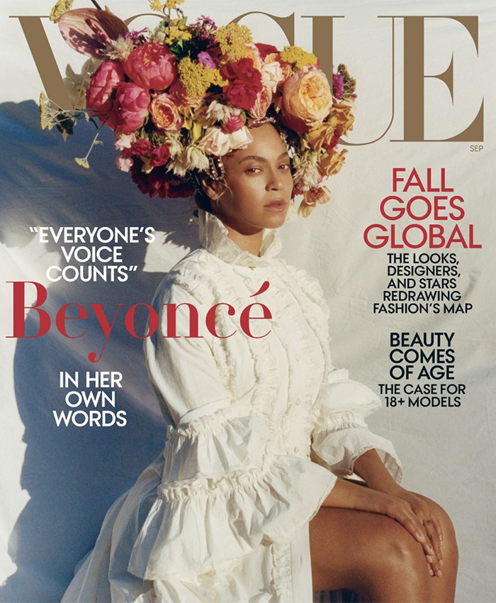 Beyonce Vogue cover 700