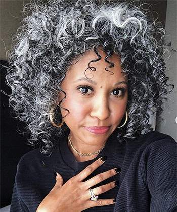 Texture Tales: Tennille Shares Her Journey of Embracing Her Silver Curls