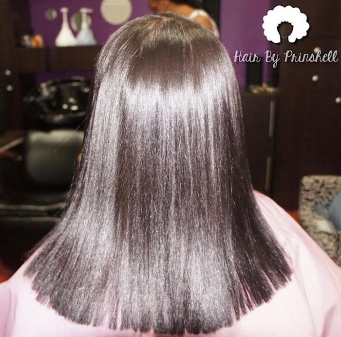 How To Achieve A Silk Press On Natural Hair Naturallycurly Com
