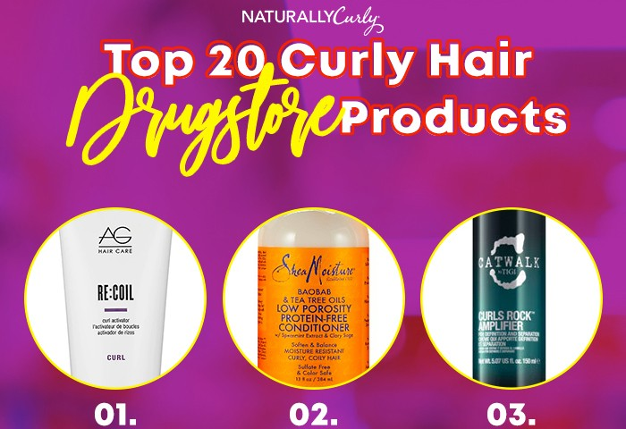The 20 Best Curly Hair Drugstore Products