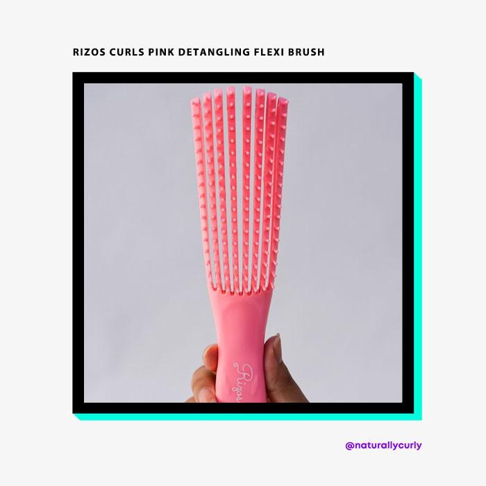 Rizos-Curls-Pink-Detangling-Flexi-Brush