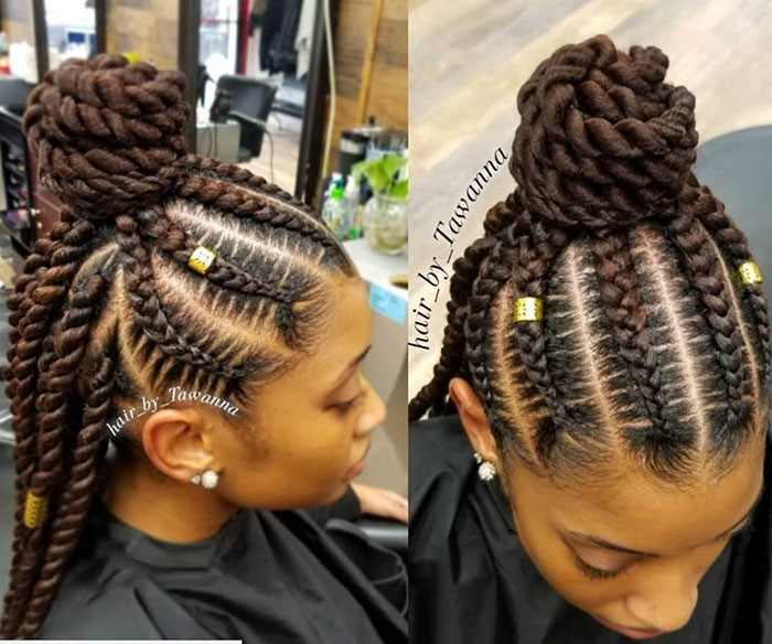 Braided Updos For Every Occasion Naturallycurly Com