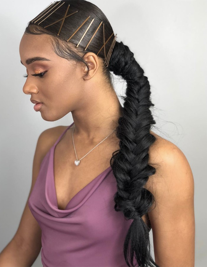 Fishtail braid 700