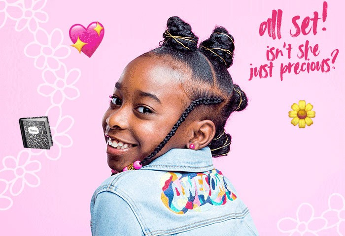 How To Style Bantu Knots with Braids That Are Too Cool For School!