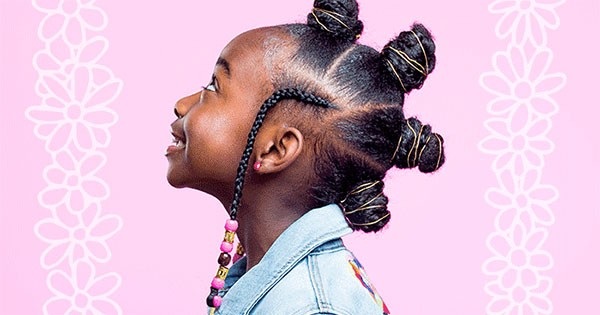 Hair Styles For Toddlers: How To Style Kids' Bantu Knots With Braids