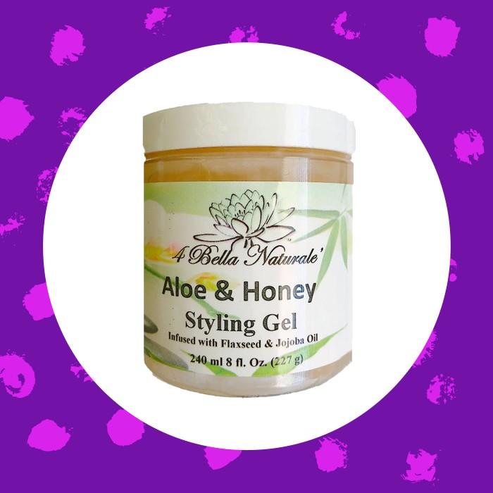 4Bella Naturals Aloe & Honey Styling Gel