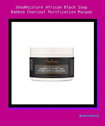 The SheaMoisture African Black Soap Bamboo Charcoal Line Cured My Dry Scalp