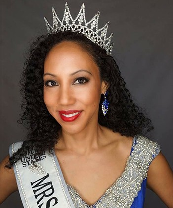 Mrs. Curlgeniality Tells Us How She Styles Her Curls For the USA Pageant