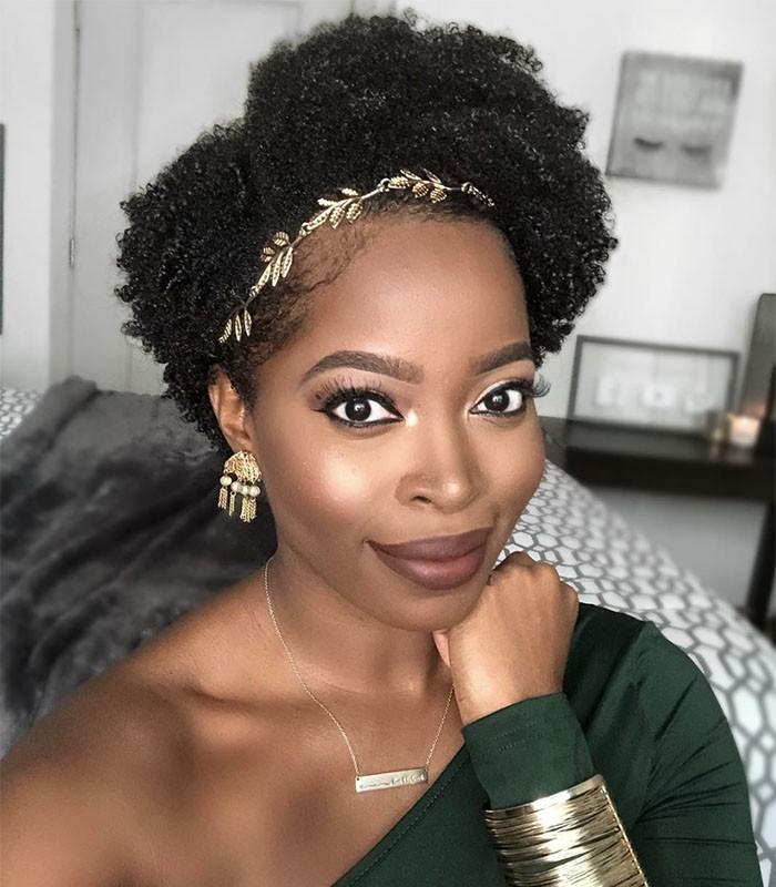 Need Bridal Hair Inspiration We Have You Covered: 10 Instagram Worthy Natural Hairstyles We Love