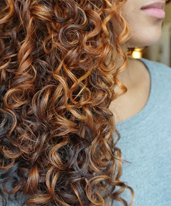The Most Popular Curly Hair Colors for Fall