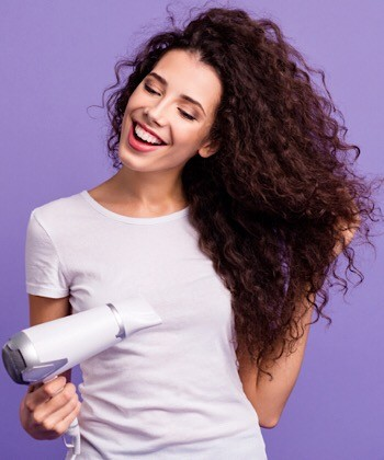 7 Rules When Using a Blow Dryer on Curly Hair