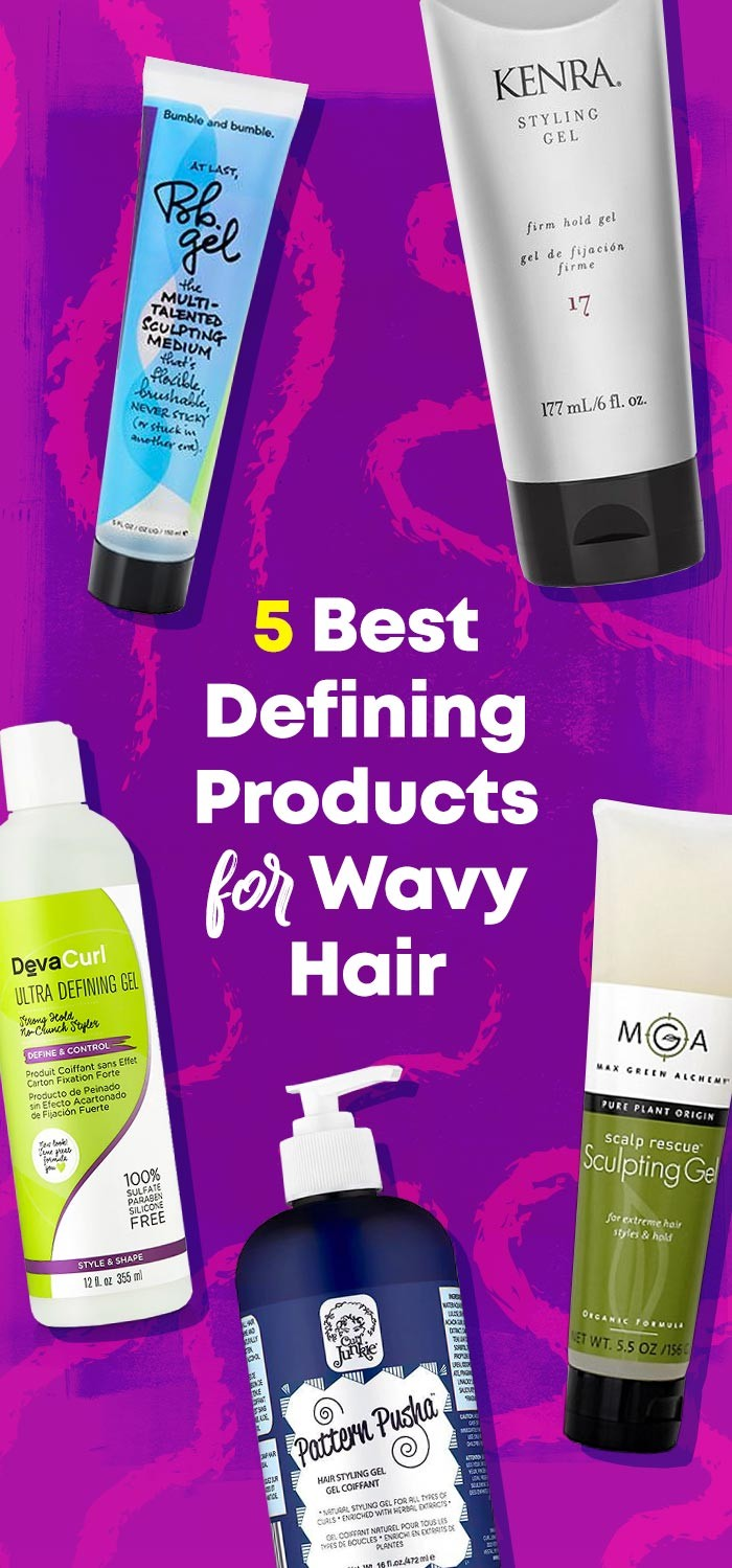 5 Best Defining Products for Wavy Hair