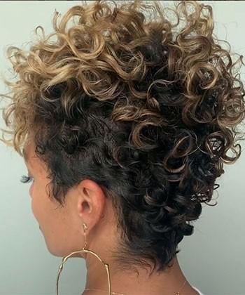 15 Short Haircut Ideas for Type 3 Curls